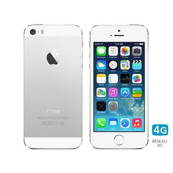 Image of iPhone 5S 64Gb Silver ricondizionato