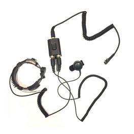 Micro-auricolare laringofono versione Motorola  2 pin