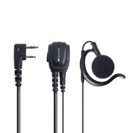 Microfono auricolare 2 pin Kenwood