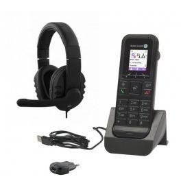 Alcatel 8232S Dect + caricatore con alimentatore + Cuffie HS-300