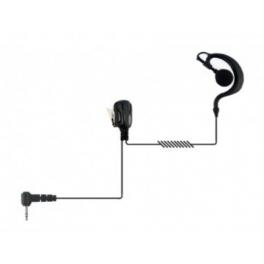 Kit contorno orecchio rinforzato per ricetrasmittente pin singolo 2.5mm