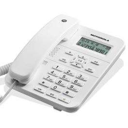 Telefono Fisso Motorola CT202 Bianco