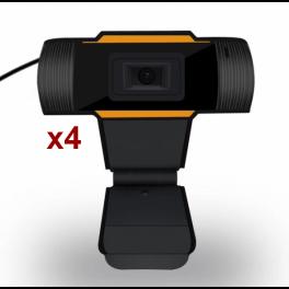 Pacco x4 Webcam USB pour PC