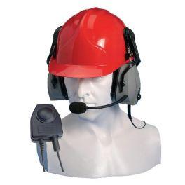 Protettore auditivo Entel CHP750HD con microfono per la serie HT