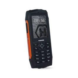Telefono cellulare resistente IP68, macchina fotografica di VGA, Bluetooth e torcia elettrica, dettagli arancioni