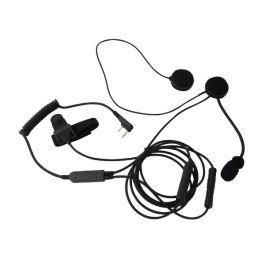 Kit microfono auricolare Mitex Open Face Helmet