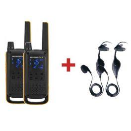 Motorola TLKR T82 Extreme + 2 Kit portatili