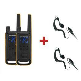 Motorola TLKR T82 Extreme + 2 Kit microauricolari
