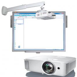 Pack Basic Corto: lavagna Multiclass + proiettore + supporto