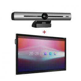 """Multi-Class 65"""" touch con sistema per videoconferenze"""