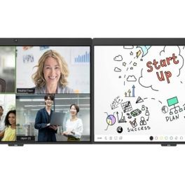 DTEN D7 55'' Doppio schermo touch per riunioni su Zoom