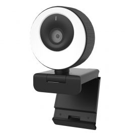 Cleyver Webcam HD con anello luminoso