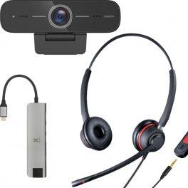Cleyver Pack Flextool per telelavoro (Jack/USB)