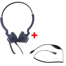 Cleyver HC25 QD Stereo + Cavo Cleyver USB70