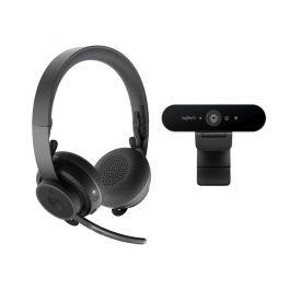 Pack Logitech Brio + Logitech Zone Wireless