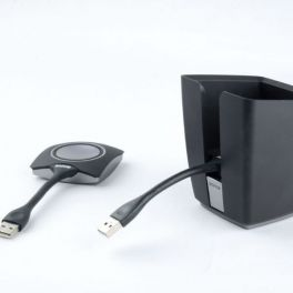 Pack vassoio Tray con 2 pulsanti ClickShare USB-C