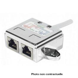 Adattatore doppia connessione RJ45 2xPC 20 cm UTP