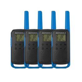 Pack x4 Motorola Talkabout T62 blu