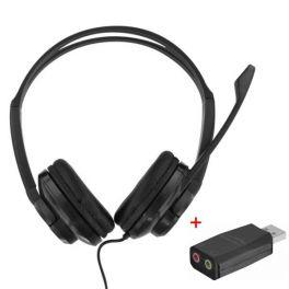 T'nB HS-200 Cuffie multimediali con adattatore USB