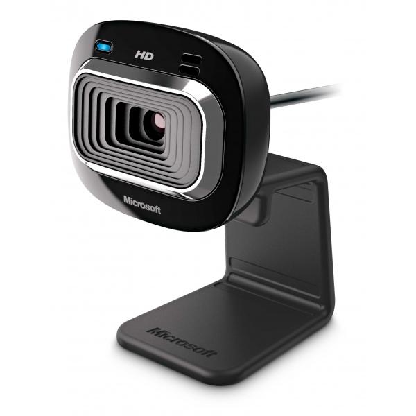 Microsoft LifeCam HD-3 webcam 1 MP 1280 x 720 Pixel USB 2.0 Nero