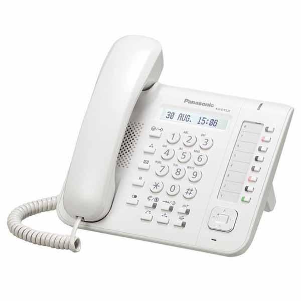 Telefono Fisso Panasonic KX-DT521 Bianco