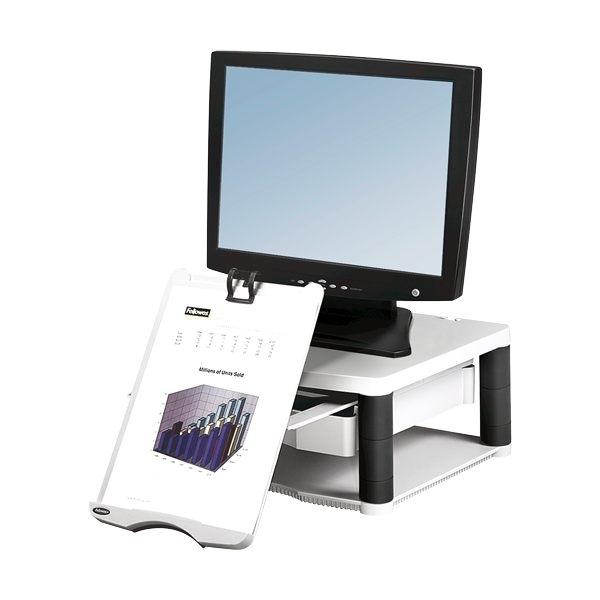 Supporto monitor Premium Plus Platino Fellowes