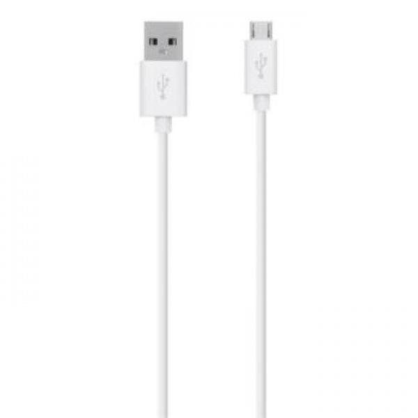 Cavo USB - Micro USB bianco