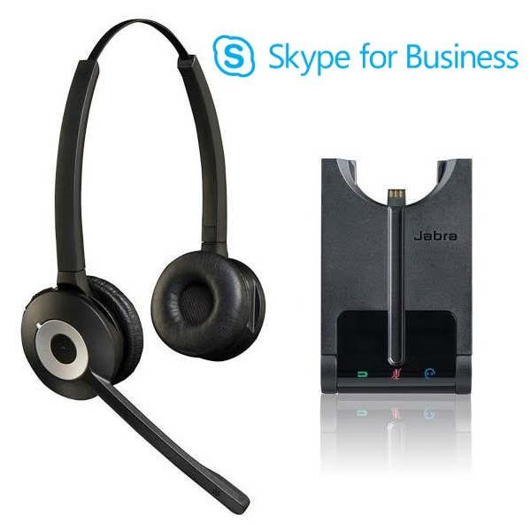 Cuffia Wireless Jabra Pro 930 Duo Skype for Business