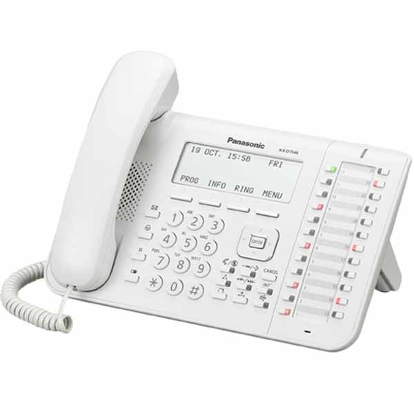 Telefono Fisso Panasonic  KX-DT546 Bianco