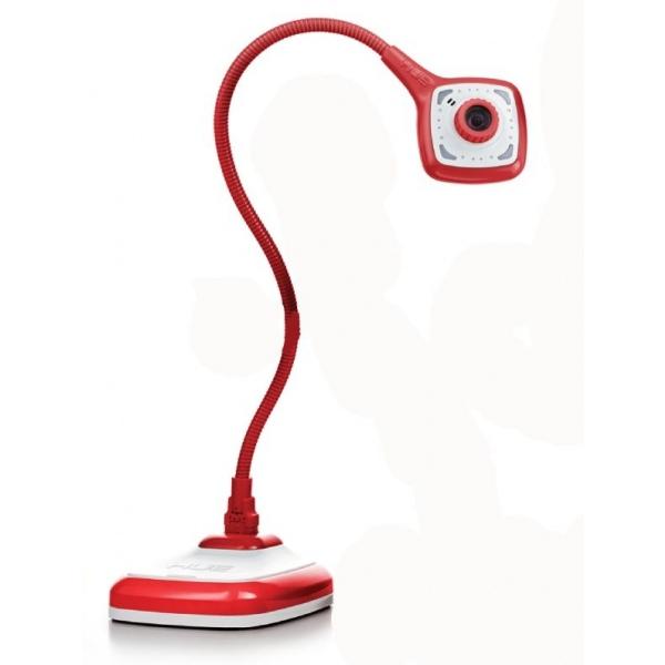 HUE HD PRO Fotocamera per Documenti/Webcam flessibile Rossa