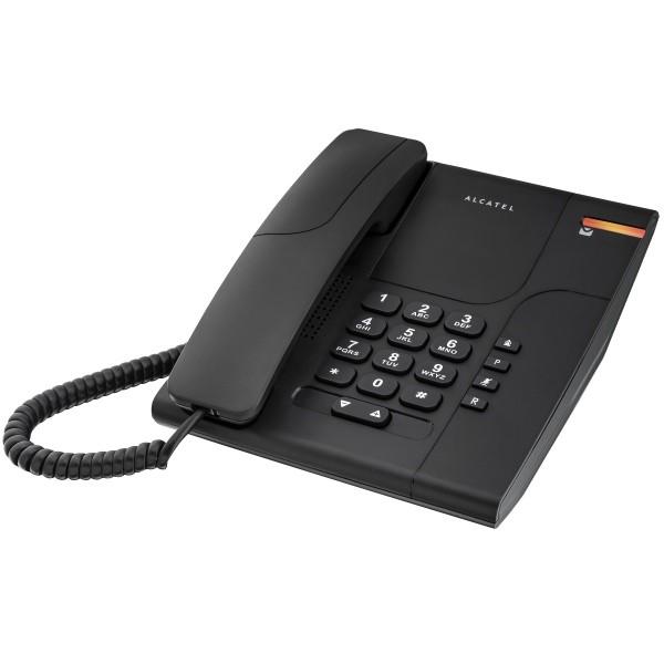 Telefono Fisso Alcatel Temporis 180 Nero