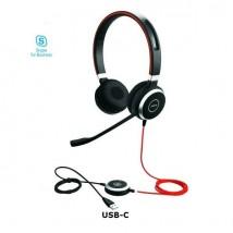 Jabra Evolve 40 MS Stereo - USB-C