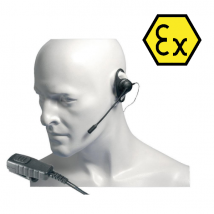 Auricolare con microfono Atex per Entel HT