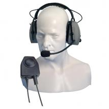 Protettore uditivo Entel CHP750D con microfono perr HT Series