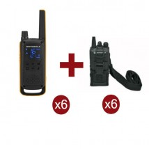 Motorola Talkabout T82 Extreme x6 + Cover x6
