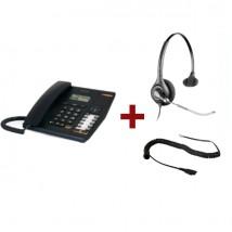 Alcatel Temporis 580 + Cuffia Plantronics Supra Plus HW251
