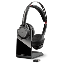 Plantronics Voyager Focus UC con base Skype for Business