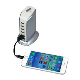 Caricatore USB da parete con 6 porte