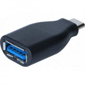 Adaptador monobloque macho USB-A 3.0 a USB-C 3.0