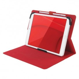 "Custodia universale per tablet da 7"" Tucano Facile Plus - rosso"