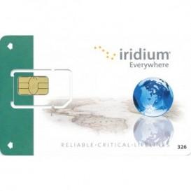 Carta SIM prepagata con attivazione Iridium