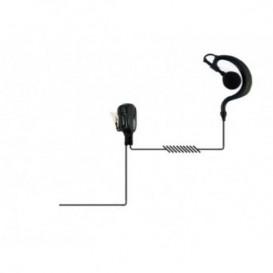 Auricolare gancio con connessione per Motorola Serie DP4xx/3xxx