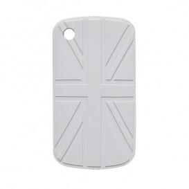 Custodia BlackBerry bandiera UK bianca