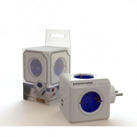 Multiconnettore PowerCube 4 connessioni 220v + 2 USB
