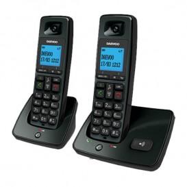 Telefono cordless Daewoo DTD 4100 Duo