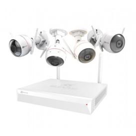 Sistema di sorveglianza Ezviz ezWireless Kit 4IPC