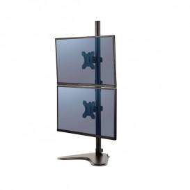 Braccio Monitor Doppio Verticale Freestanding Fellowes Professional Series™