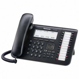 Telefono Fisso Panasonic KX-DT546 Nero