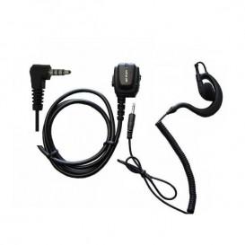Microauricolare ergonomico Y-VX + Auricolare gancio