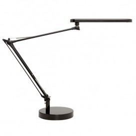 Lampada da scrivania LED Unilux Mamboled Nera